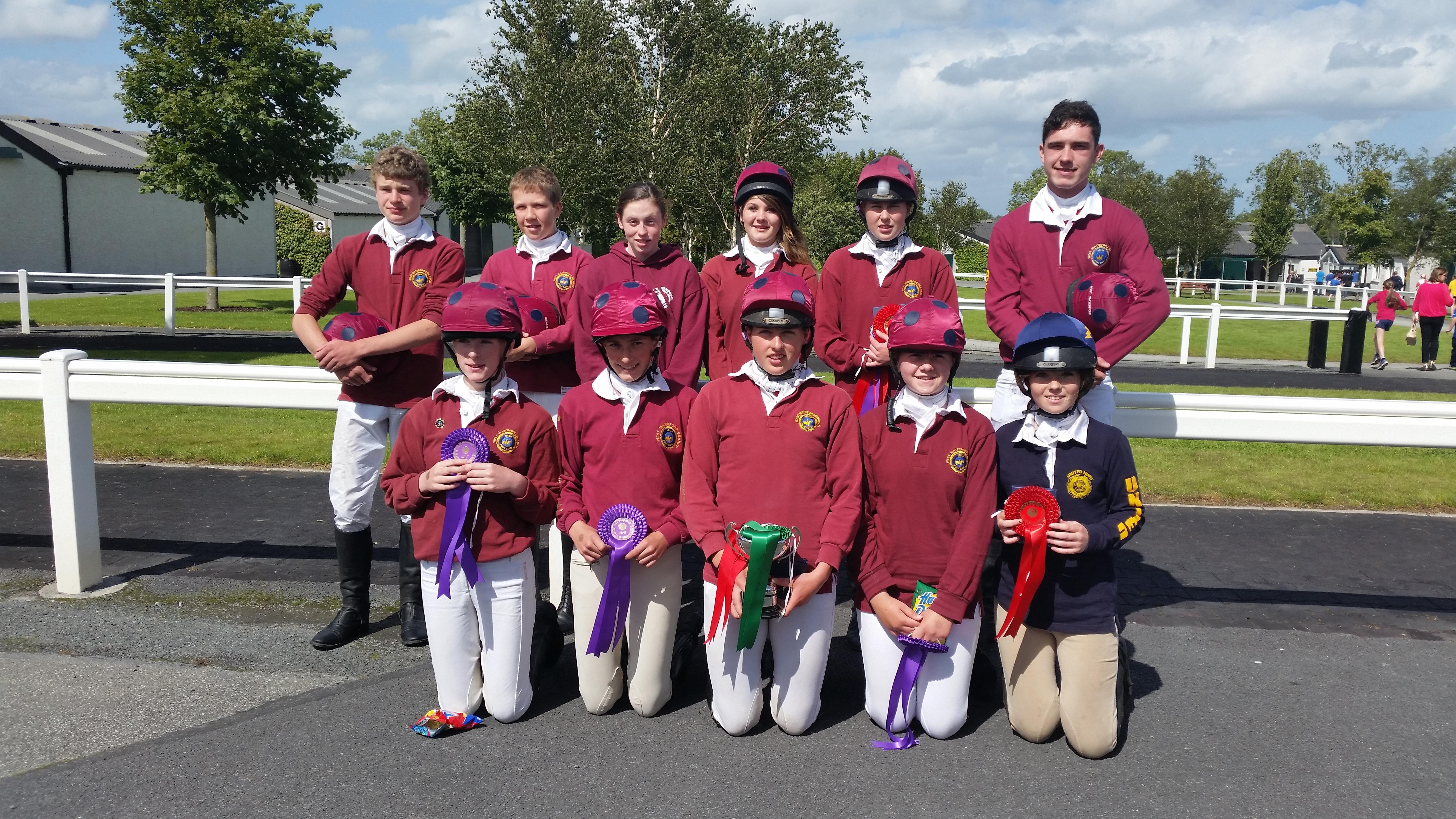 West Waterford members at the tetrathlon 2015
