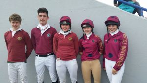 West Waterford Members at the tetrathlon