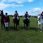 Eventing Championship Rhys, James, Siofra, Sarah